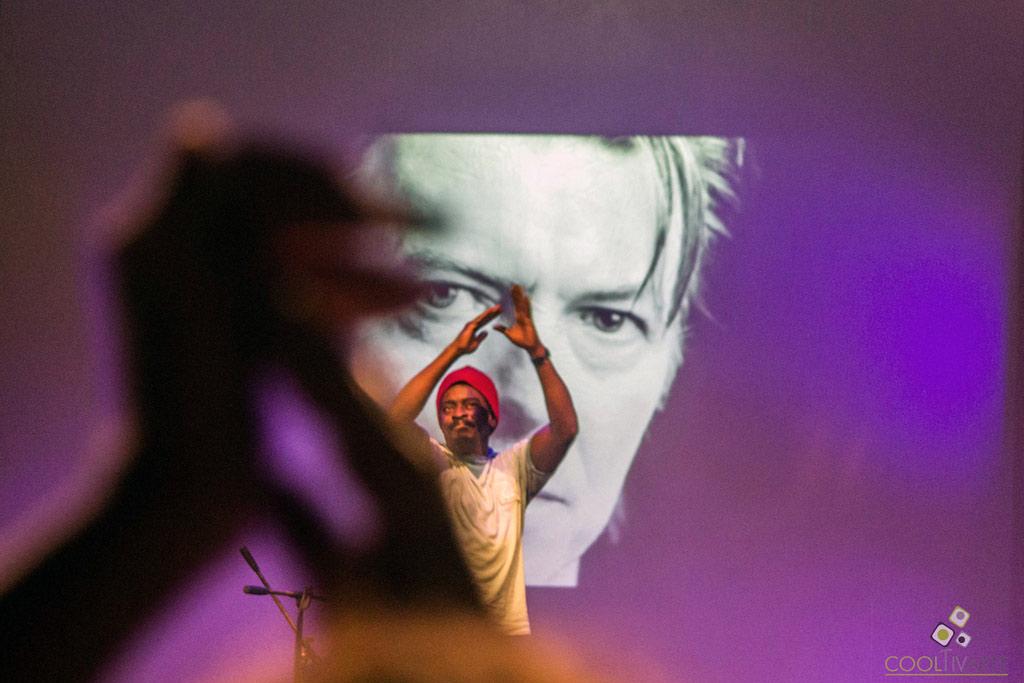 Seu Jorge / Tributo a David Bowie - noviembre 2017 - La Trastienda MVD - Foto © Lucía Coppola www.cooltivarte.com --