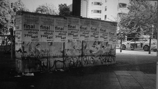 imagen perteneciente a Matias Ygielka (afiches colocados en Berlin)