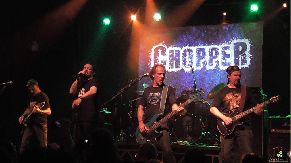 Chopper en MMBox - Hechos Consumados Banda Invitada MAFIA - Montevideo Music Box - 17 noviembre 2017 - Foto © Claudia Rivero