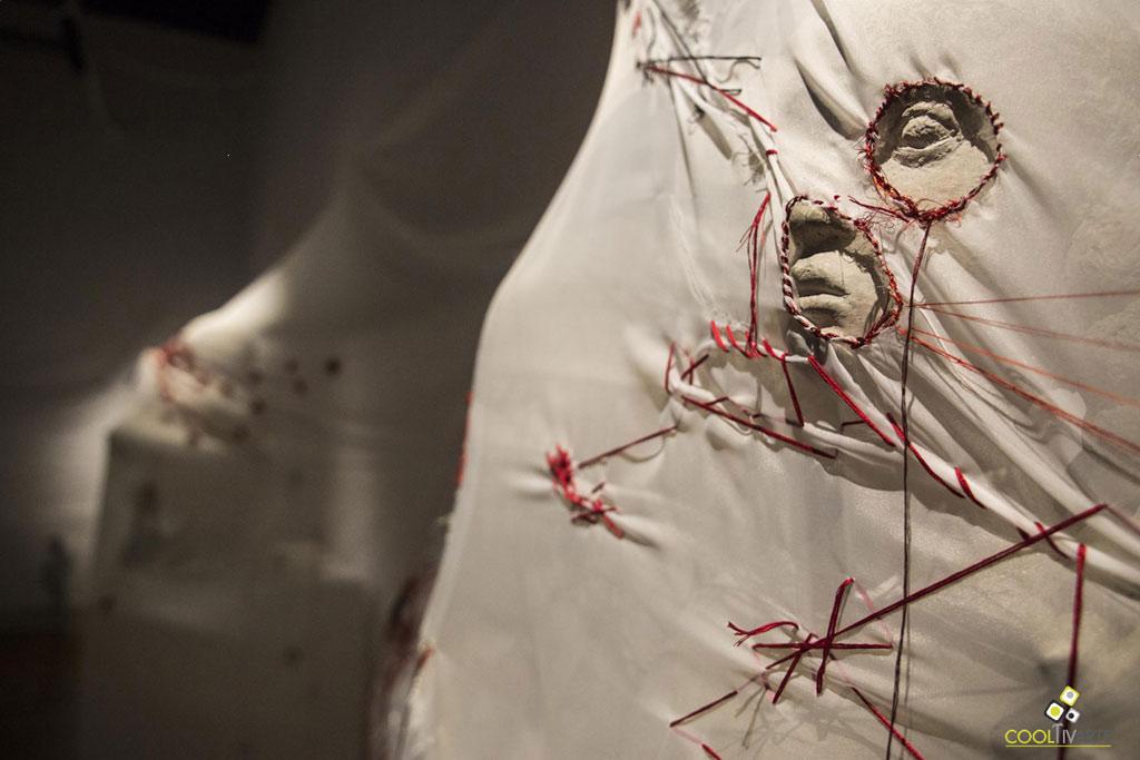 TERRITORIO INFILTRADO - Museo Juan Manuel Blanes - 1° de marzo al 15 de abril de 2018 - Foto © Gentileza de la artista Alejandra González Soca
