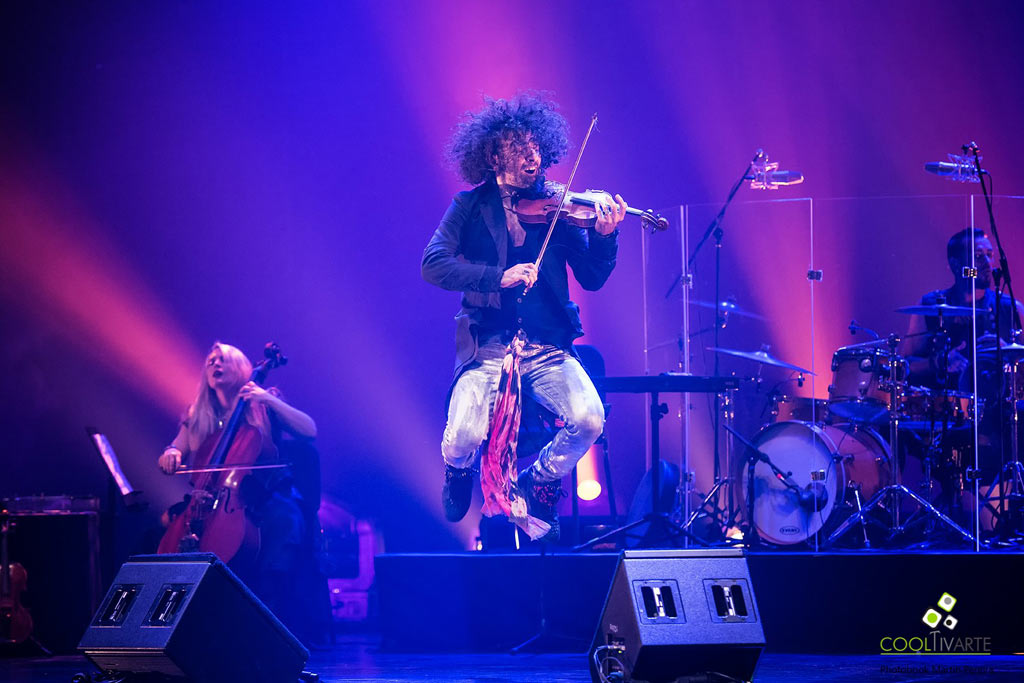Ara Malikian The Incredible Tour Violin MVD Fotografia Martín Pereira © www.cooltivarte.com