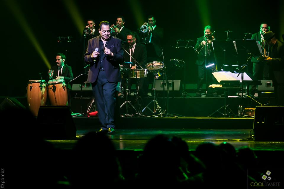 Tito Nieves - Auditorio Nacional Adela Reta , Sala Hugo Balzo - Abril 2018 - © Ricardo Gómez.