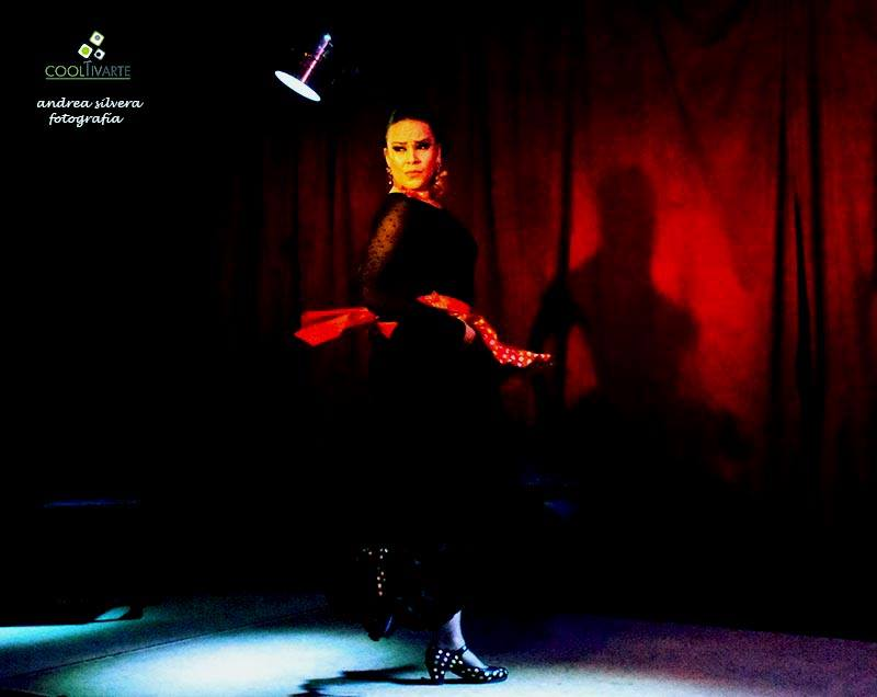 tablado flamenco abril 2018 el chamuyo foto andrea silvera