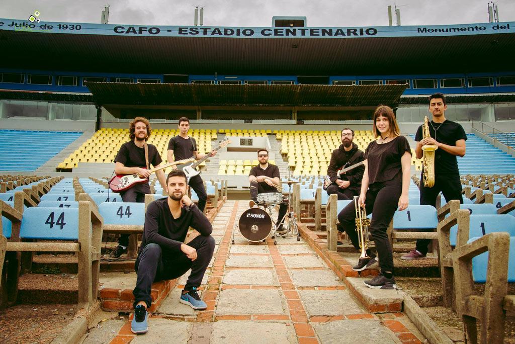 Delirium Tremens grabó videoclip en el Estadio Centenario - Fotografía: Daniela Hernandez
