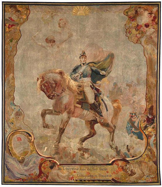 El General San Martín cruzando los Andes por Museo Nacional de Bellas Artes
