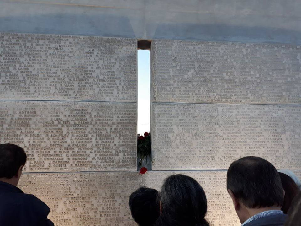 Inauguración del Espacio Memorial Penal de Libertad - Mayo 2018 - Penal de Libertad - San José - Foto registro de celular © Adriana Cabrera Esteve