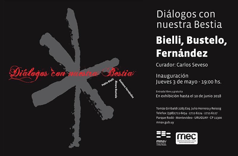 """""""Diálogos con nuestra Bestia"""" de Bielli, Bustelo, Fernández."""