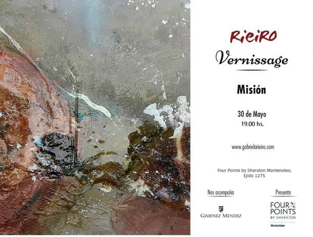 Misión de la artista Gabriela Rieiro