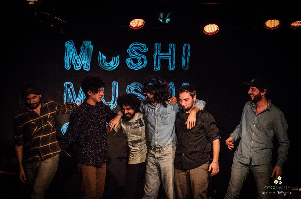 Mushi Mushi Orquesta - Teatro Agadu - 15/06/18 - Fotografía: Mauricio Rodríguez - www.cooltivarte.com