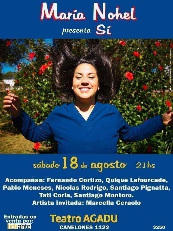 María Nohel presenta su disco SÍ
