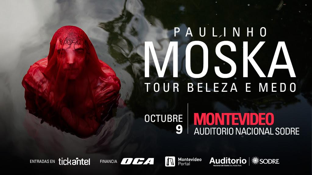 """PAULINHO MOSKA Con su nuevo trabajo discográfico """"Beleza e medo"""" y conmemorando sus 25 años como artista"""