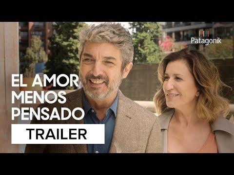 """""""El Amor Menos Pensado"""" es una comedia romántica protagonizada por Ricardo Darín y Mercedes Morán."""