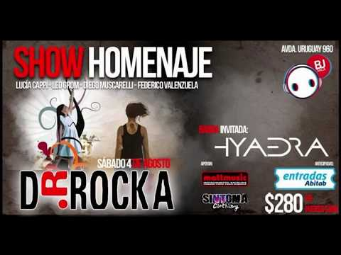El sábado 4 de agosto en Bj Sala se estará haciendo un homenaje a una gran banda que dejo un recuerdo mas que importante en rock uruguayo Dr. Rocka.