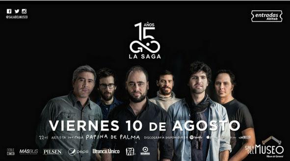 LA SAGA es una banda histórica del Rock Uruguay
