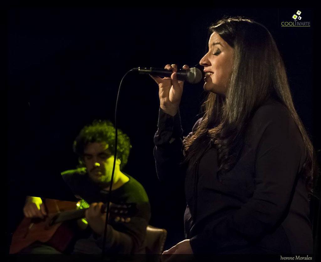 Maria Nohel presenta su disco Sí - Agosto 2018 - SALA BLANCA PODESTÁ – Teatro AGADU - Foto © Ivonne Morales www.cooltivarte.com