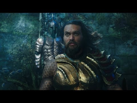 """From Warner Bros. Pictures and director James Wan comes an action-packed adventure that spans the vast, visually breathtaking underwater world of the seven seas, """"Aquaman,"""" starring Jason Momoa in the title role. The film reveals the origin story of half-human, half-Atlantean Arthur Curry and takes him on the journey of his lifetime—one that will not only force him to face who he really is, but to discover if he is worthy of who he was born to be…a king."""