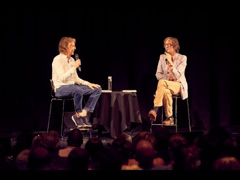 Paul McCartney returned to his old school in Liverpool, now LIPA (The Liverpool Institute for Performing Arts) on Wednesday 25th July for an intimate hour long Q&A and conversation session with Jarvis Cocker and LIPA students to discuss his new album 'Egypt Station'.