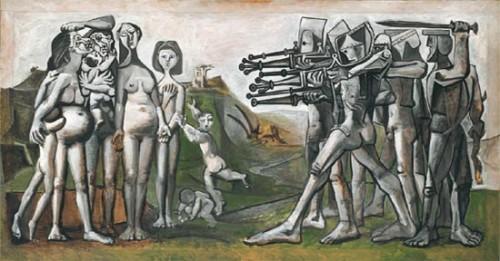 La matanza de Corea, Pablo Picasso