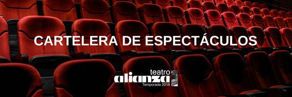 teatro alianza - Obras en Cartel