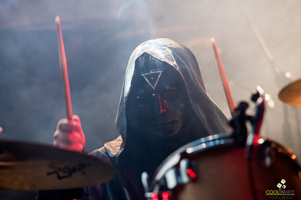 Dark Funeral MMBOX 2018 - IDL Managment - Banda Invitada VERMIFORME Fotografía Martín Pereira