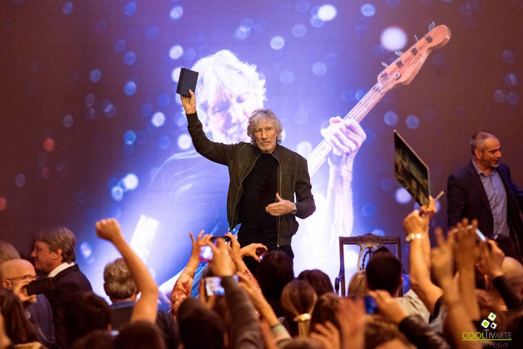 Roger Waters Visitante Ilustre de Montevideo Fotografia Martín Pereira