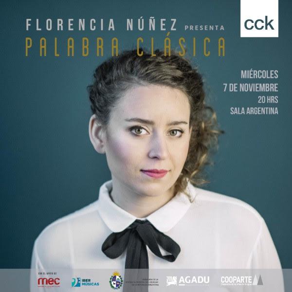 Florencia Núñez en el CCK