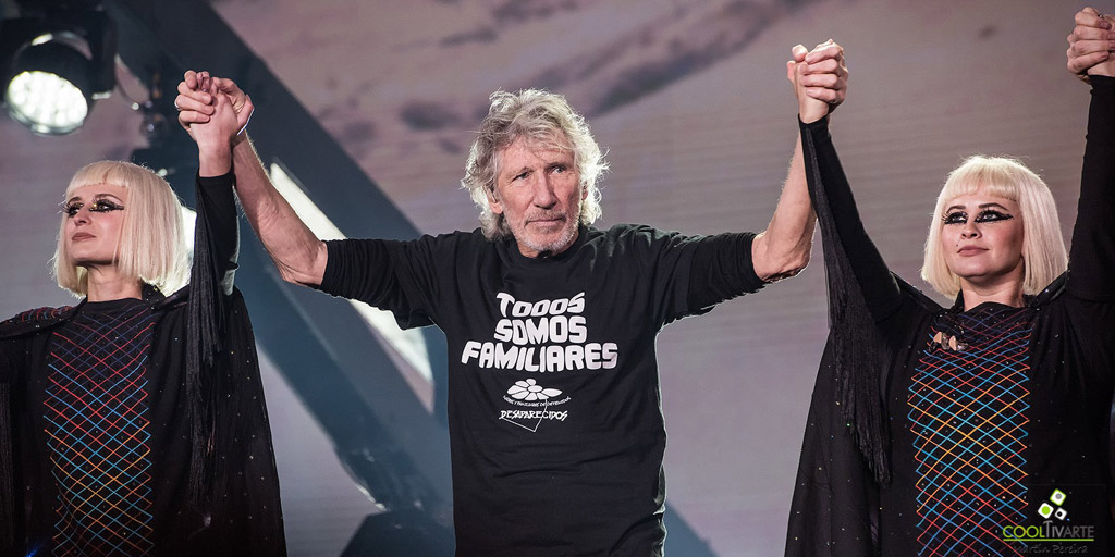 Pink Floyd's Roger Waters Us+Them en Montevideo Fotografia: Martín Pereira © www.cooltivarte.com