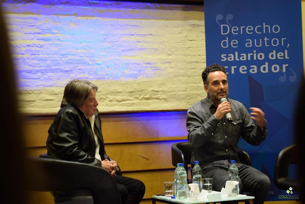 Jorge Drexler en Conferencia de Prensa - Dando detalles de lo que será su proxima gira #Silente que comenzará el 29 de mayo en Montevideo en el Auditorio Nacional Sodre - Sala Mario Benedetti de la Casa del Autor de AGADU - Fotos Claudia Rivero