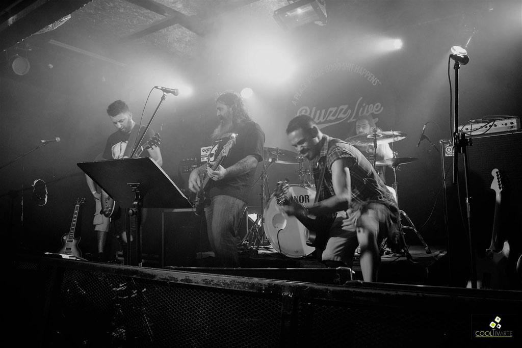 Frankie Lampariello en Bluzz Live 27-12-18 - Fotos Claudia Rivero www.cooltivarte.com