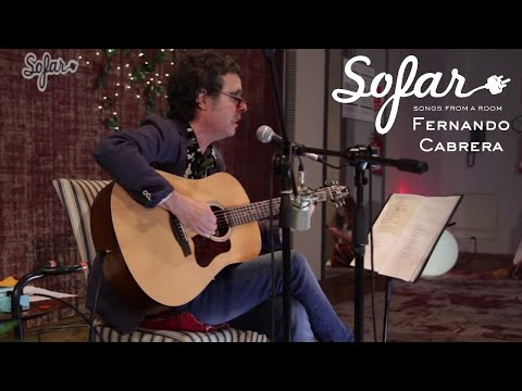 "Fernando Cabrera performing ""Agua"" at Sofar Montevideo on November 24th, 2018 Sofar puts on hundreds of intimate shows each month around the world."