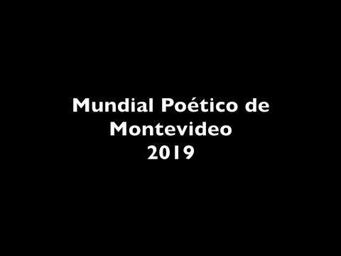Fragmentos Mundial Poético de Montevideo2020 –Pedro Lago Martín Barea Mattos