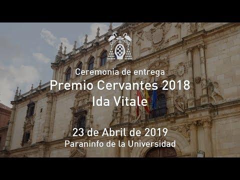 La escritora uruguaya recibe el Premio Cervantes 2018 de la mano de SM el Rey Don Felipe VI, en una ceremonia celebrada en el Paraninfo de la UAH. Descubre en este reportaje más sobre Ida Vitale