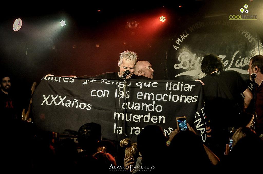 BUITRES se presentaron en la primera de las dos fechas en Bluzz live Fotos © Alvaro Faviere www.cooltivarte.com