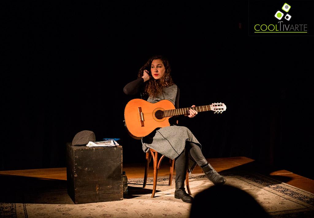 """PATRICIA ROBAINA Presento el jueves 20 de junio en el Teatro Ducon, """" De un sueño a un ensayo general"""" Foto © Vanni Gonzo www.cooltivarte.com"""