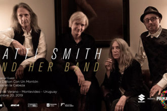 Primavera 0 2019: Patti Smith and Her Band en el Teatro de Verano de Montevideo