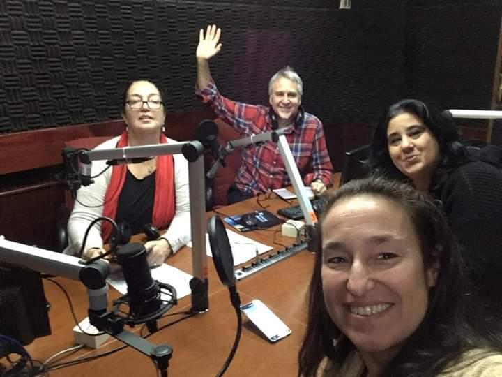 Efecto Mariposa - Radio Uruguay – Foto: fecebook del programa- Montevideo, Julio 2019.