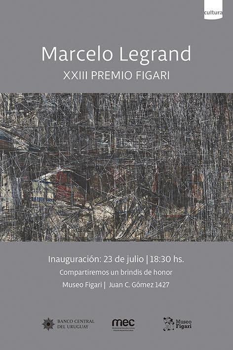 Inauguración del Premio Figari Muestra de Marcelo Legrand