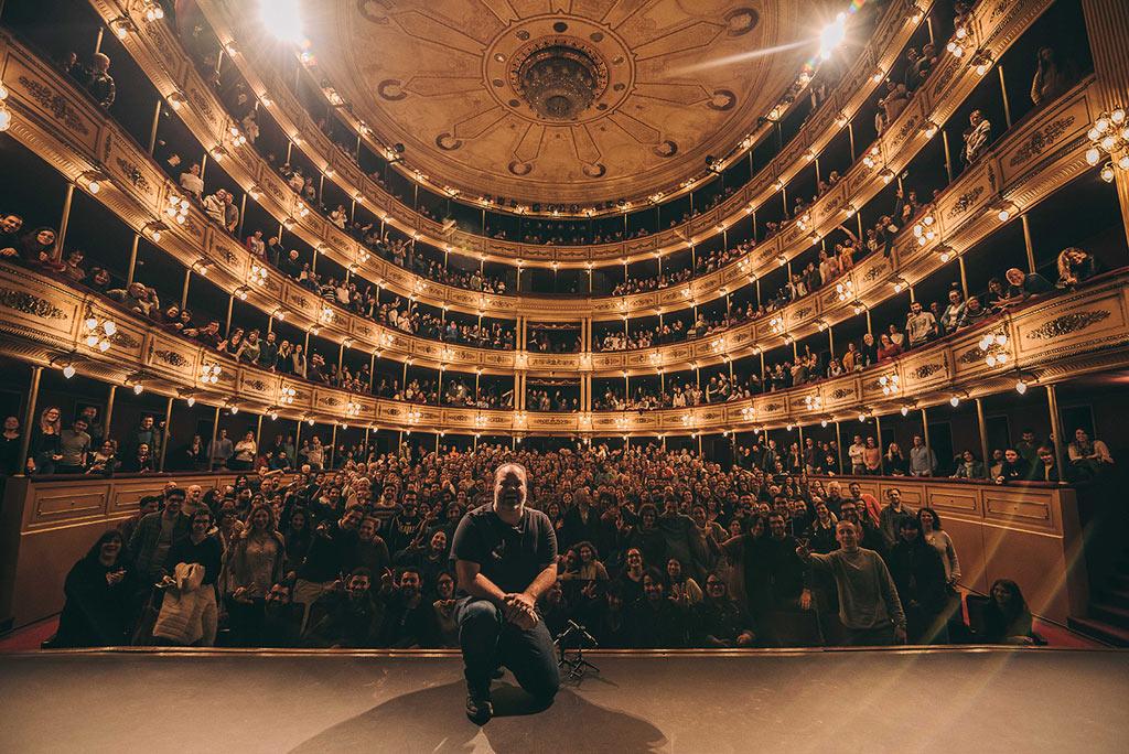 Christian Cary - teatro Solís - 31 julio 2019 - foto - Mathías Arizaga