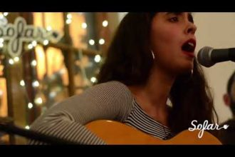 "Inés Errandonea performing ""Isla Grande"" at Sofar Montevideo on June 23, 2018"