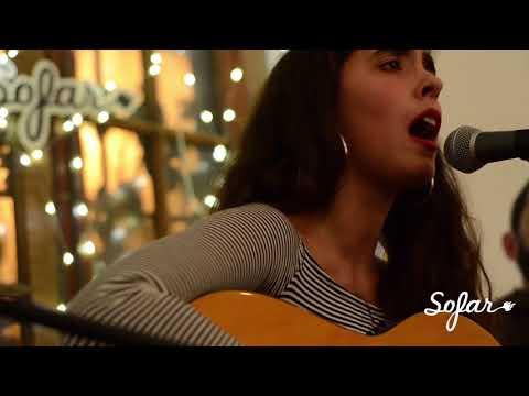 "Inés Errandonea performing ""Isla Grande"" at Sofar Montevideo on June 23, 2018"