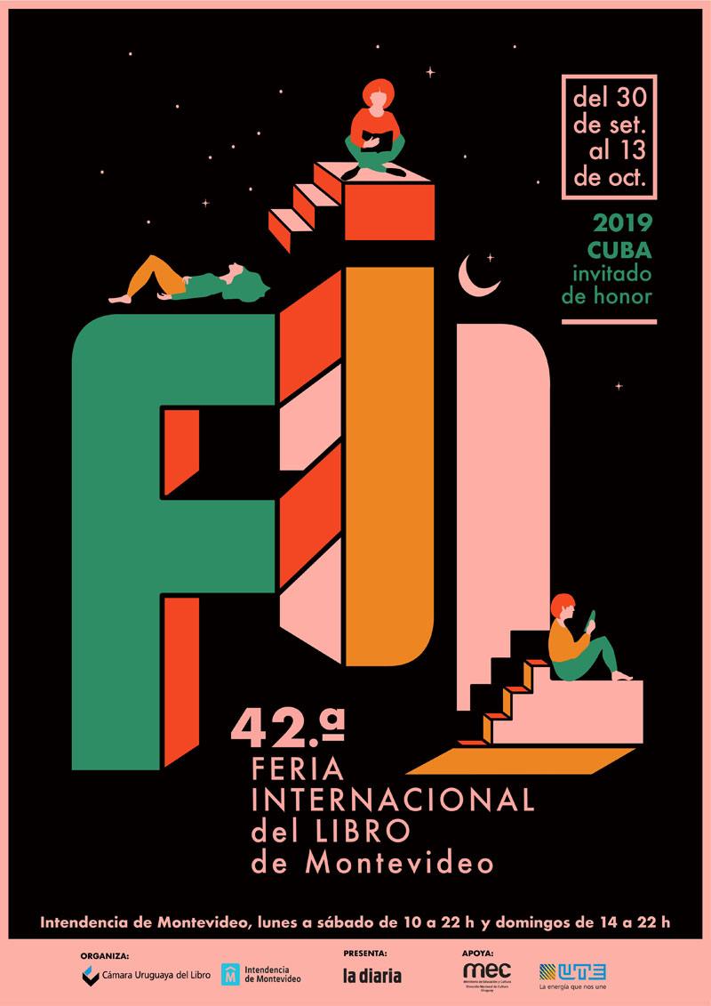 La 42.a Feria internacional del Libro de Montevideo este año contará con la participación de Cuba como país invitado de honor. Además de la delegación de escritores cubanos que nos acompañarán, en esta edición, podrán disfrutar de algunas sorpresas que irán descubriendo al acercarse al evento. Recuerden, del 30 de setiembre al 13 de octubre se realiza la gran fiesta del libro en el centro de Montevideo con entrada gratuita.
