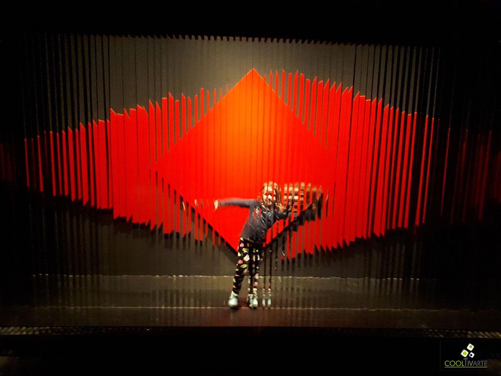 Julio Le Parc - Un-visionario - setiembre 2019 - CCK - Centro Cultural Kirchner - foto celular - Federico Meneses www.cooltivarte.com