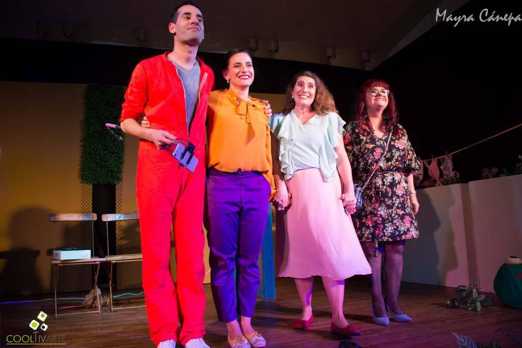 El grupo teatral Le Varieté presenta la obra Hasta la vista, baby de Franklin Rodríguez bajo la dirección de Jorge Menoni. © Fotos Mayra Cánepa