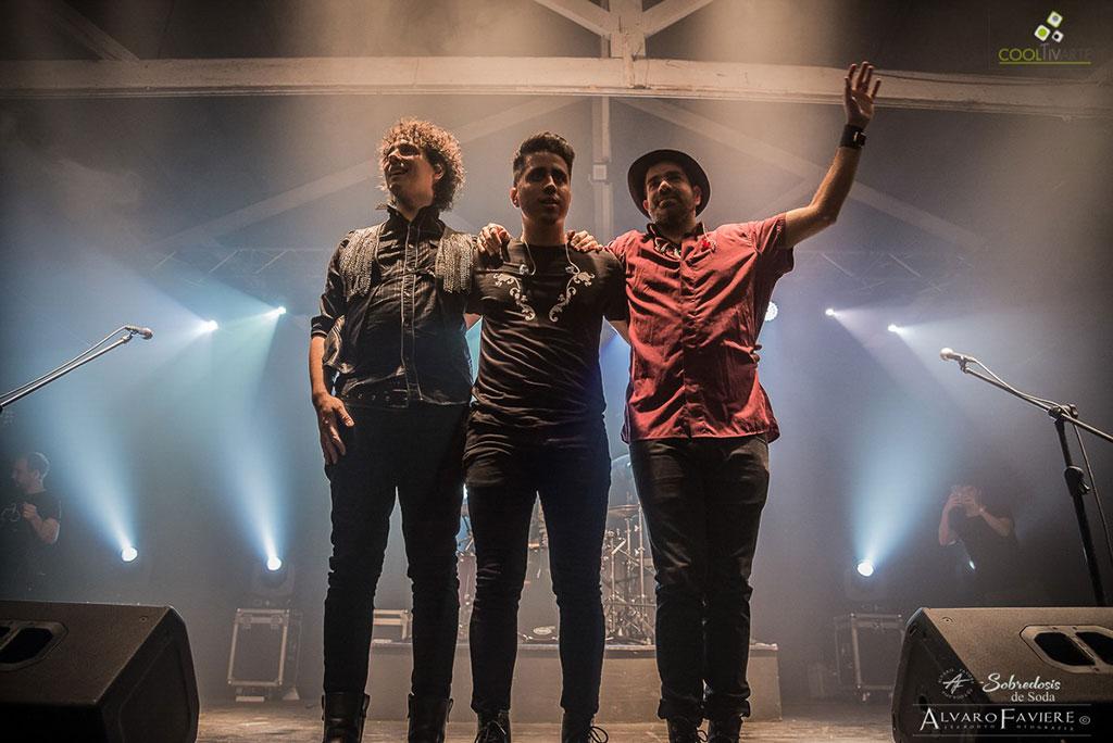 La Banda numero 1 tributo de Soda Stereo estuvo por Montevideo Fotos © Alvaro Faviere www.cooltivarte.com