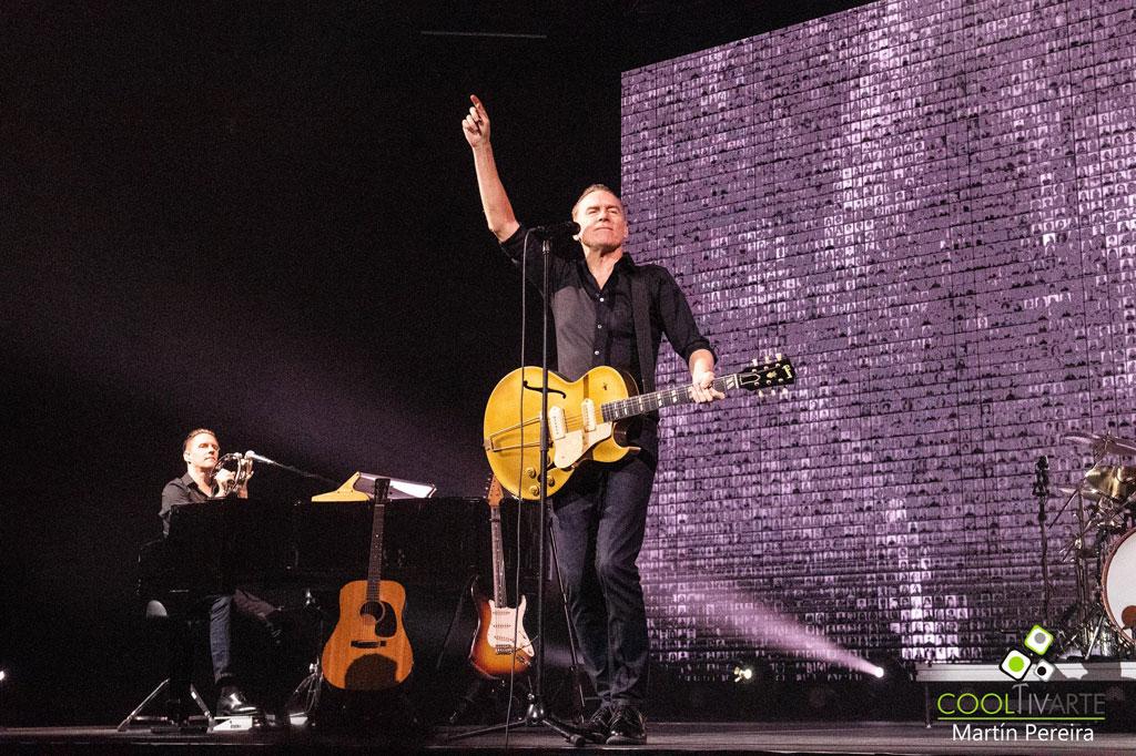 Bryan Adams - Shine a Light Tour - Antel Arena - 14 de Octubre 2019 - Fotografía Martín Pereira - www.cooltivarte.com