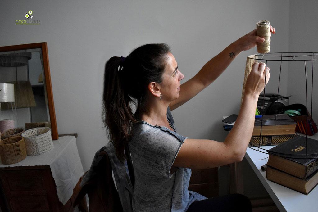 Milus Luz - luminarias artesanales - Florencia Branca - noviembre 2019 Fotografía Magdalena Patiño www.cooltivarte.com
