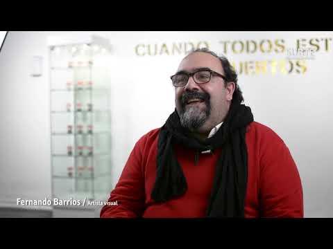 """Entrevsita con Fernando Barrios Obra """"Artista de Mierda"""" 49 Premio Montevideo de Artes Visuales"""