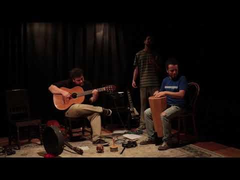 Fernando Cortizo - Guitarra Alessandro Podestá - Voz Ernesto Díaz - Percusión Teatro Ducon de Montevideo 29 de noviembre de 2019