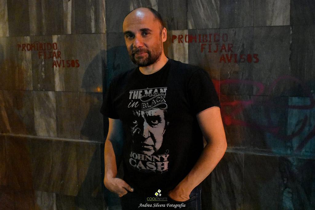 Paulo Roddel entrevista a Diego Presa - diciembre 2019 - Foto © Andrea Silvera www.cooltivarte.com