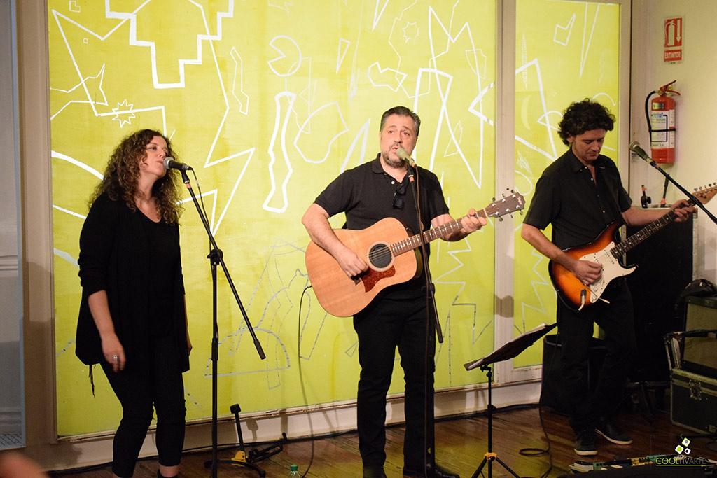 Museos en la Noche Edición N´ 15 - Garo Arakelián acompañado por Laura Gutman y Santiago Peralta - Museo Figari - 13-12-19 - Fotos Claudia Rivero - www.cooltivarte.com